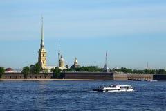 Fortezza del Paul e del Peter, St Petersburg immagine stock libera da diritti
