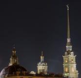 Fortezza del Paul e del Peter a St Petersburg Immagini Stock