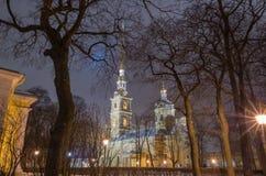 Fortezza del Paul e del Peter a St Petersburg Fotografie Stock Libere da Diritti
