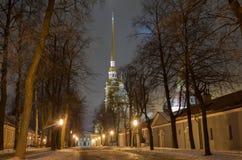 Fortezza del Paul e del Peter a St Petersburg Fotografia Stock Libera da Diritti