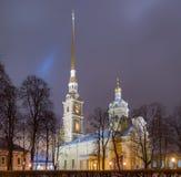Fortezza del Paul e del Peter a St Petersburg Immagini Stock Libere da Diritti