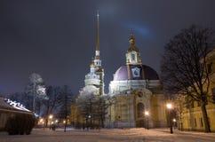 Fortezza del Paul e del Peter a St Petersburg Fotografie Stock