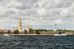 Fortezza del Paul e del Peter, St Petersburg Fotografie Stock Libere da Diritti