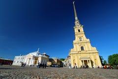 Fortezza del Paul e del Peter a St Petersburg, Russia Fotografie Stock Libere da Diritti