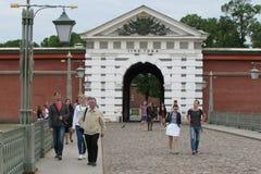 Fortezza del Paul e del Peter, St Petersburg fotografia stock libera da diritti