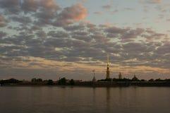 Fortezza del Paul e del Peter, St Petersburg, Russia immagine stock libera da diritti