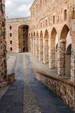 Fortezza del Priamar, architectural detail Royalty Free Stock Image