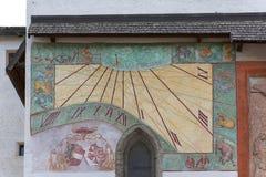 Fortezza del XI secolo di Hohensalzburg, Austria, Salisburgo fotografia stock libera da diritti
