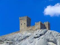 Fortezza della montagna Fotografia Stock Libera da Diritti