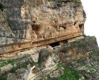 Fortezza della roccia di Niha, Chouf, Libano Immagini Stock Libere da Diritti