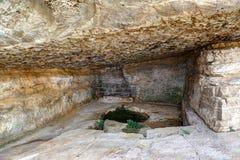 Fortezza della roccia di Niha, Chouf, Libano Fotografia Stock Libera da Diritti