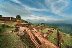 Fortezza della roccia di Sigiriya, Sri Lanka Fotografia Stock