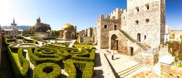 Fortezza di Akhaltsikhe, anche la fortezza di Rabat, i panorami ed il fra Fotografia Stock Libera da Diritti