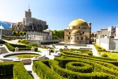 Fortezza di Akhaltsikhe, anche la fortezza di Rabat, i panorami ed il fra Fotografia Stock