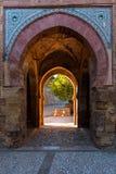 Fortezza di Alhambra Fotografia Stock Libera da Diritti