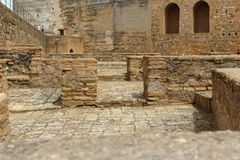 Fortezza di Alhambra Immagine Stock Libera da Diritti