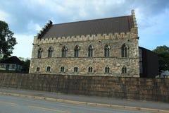 Fortezza di Bergenhus Fotografia Stock Libera da Diritti