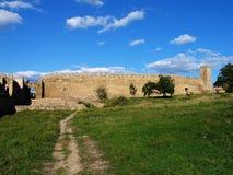 Fortezza di Bilhorod-Dnistrovskyi Fotografia Stock Libera da Diritti