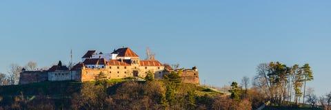 Fortezza di Brasov nella Transilvania, Romania Immagini Stock Libere da Diritti