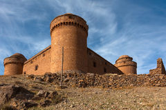Fortezza di Calahorra della La Fotografia Stock Libera da Diritti