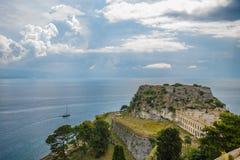 Fortezza di Corfù Fotografia Stock