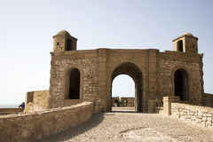 Fortezza di Essaouira Immagine Stock