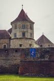 Fortezza di Fagaras, città di Fagaras, Romania Immagini Stock