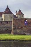 Fortezza di Fagaras, città di Fagaras, Romania Immagine Stock