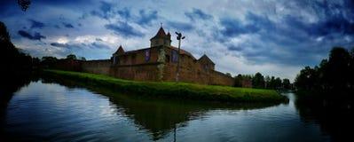 Fortezza di Fagaras Romania Fotografia Stock