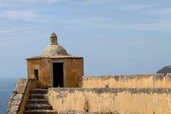 Fortezza di Filipes del san a Setubal, Portogallo Fotografie Stock Libere da Diritti