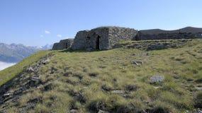 Fortezza di Gran Serin, 1890-91 - l'Italia Fotografie Stock Libere da Diritti