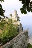 Fortezza di Guaita nella città del San Marino immagini stock