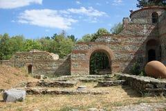 Fortezza di Hisarlaka in Bulgaria fotografia stock libera da diritti