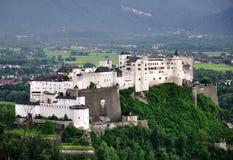 Fortezza di Hohensalzburg, Salisburgo, Austria Fotografie Stock Libere da Diritti