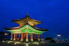 Fortezza di Hwaseong a Suwon fotografie stock