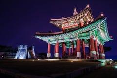 Fortezza di Hwaseong a Suwon fotografie stock libere da diritti
