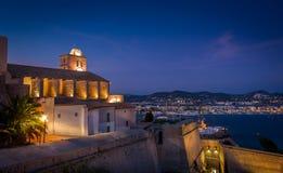 Fortezza di Ibiza Immagine Stock