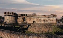 Fortezza di Imola fotografie stock libere da diritti