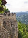 Fortezza di Königstein Fotografia Stock Libera da Diritti
