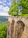 Fortezza di Königstein Fotografia Stock