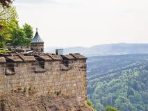 Fortezza di Königstein Immagine Stock Libera da Diritti