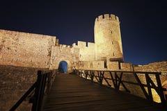 Fortezza di Kalemegdan a Belgrado Serbia immagini stock