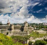 Fortezza di Kamenetz-Podol'sk Fotografie Stock Libere da Diritti