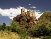 Fortezza di Khertvisi in Georgia immagine stock