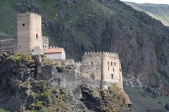 Fortezza di Khertvisi in Georgia Fotografie Stock Libere da Diritti