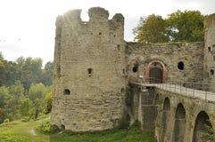 Fortezza di Koporie - vecchio posto rovinato in Russia, vicino a St Petersburg Fotografie Stock