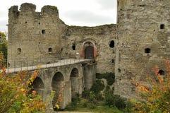 Fortezza di Koporie - vecchio posto rovinato in Russia, vicino a St Petersburg Immagini Stock Libere da Diritti