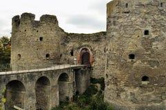 Fortezza di Koporie - vecchio posto rovinato in Russia, vicino a St Petersburg Immagine Stock Libera da Diritti