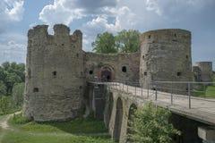 Fortezza di Koporye immagini stock libere da diritti