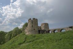 Fortezza di Koporye fotografia stock libera da diritti